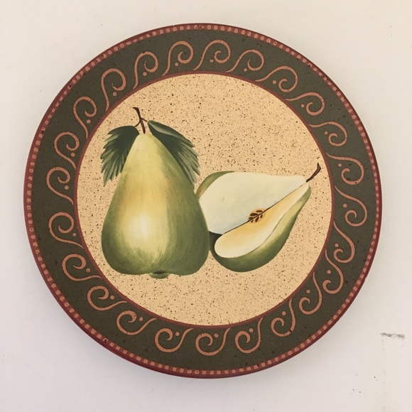 Other - Home Interiors Green Pear Plate